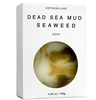 Dead Sea Mud Seaweed Cellulite Body Soap (Vegan)