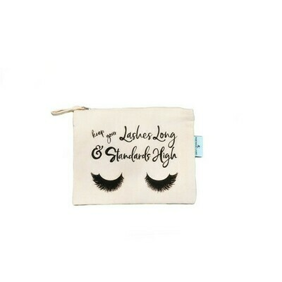 Fair Trade Organic Cotton Make up Bag