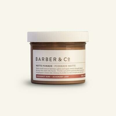 Hair pomades and texture paste
