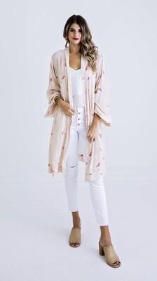 Karlie, Floral Print Kimono