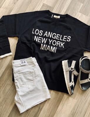 City Name Sweater