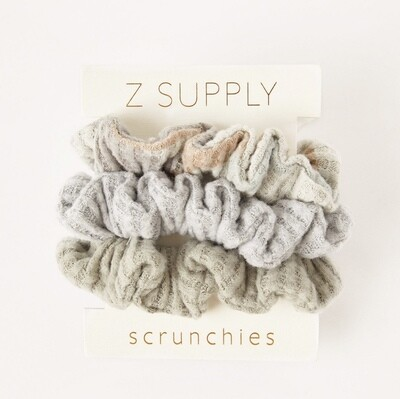 Z Supply 3 pack Camo Scrunchie