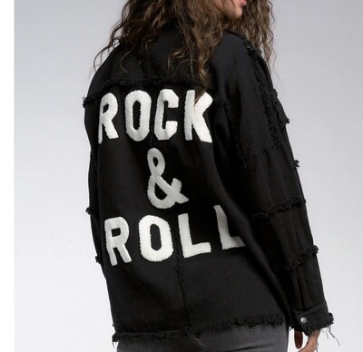 Rock and Roll- Shirt Jacket