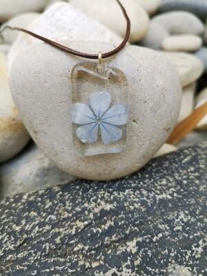 Plambago Flower Necklace