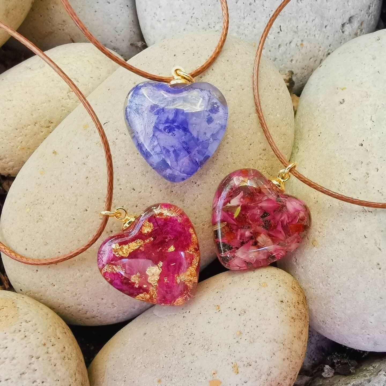 Fynbos Heart Necklace