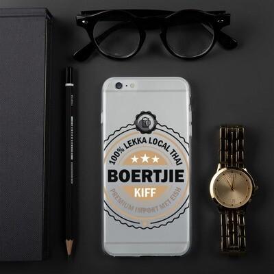 100% Thai Boertjie iPhone Case