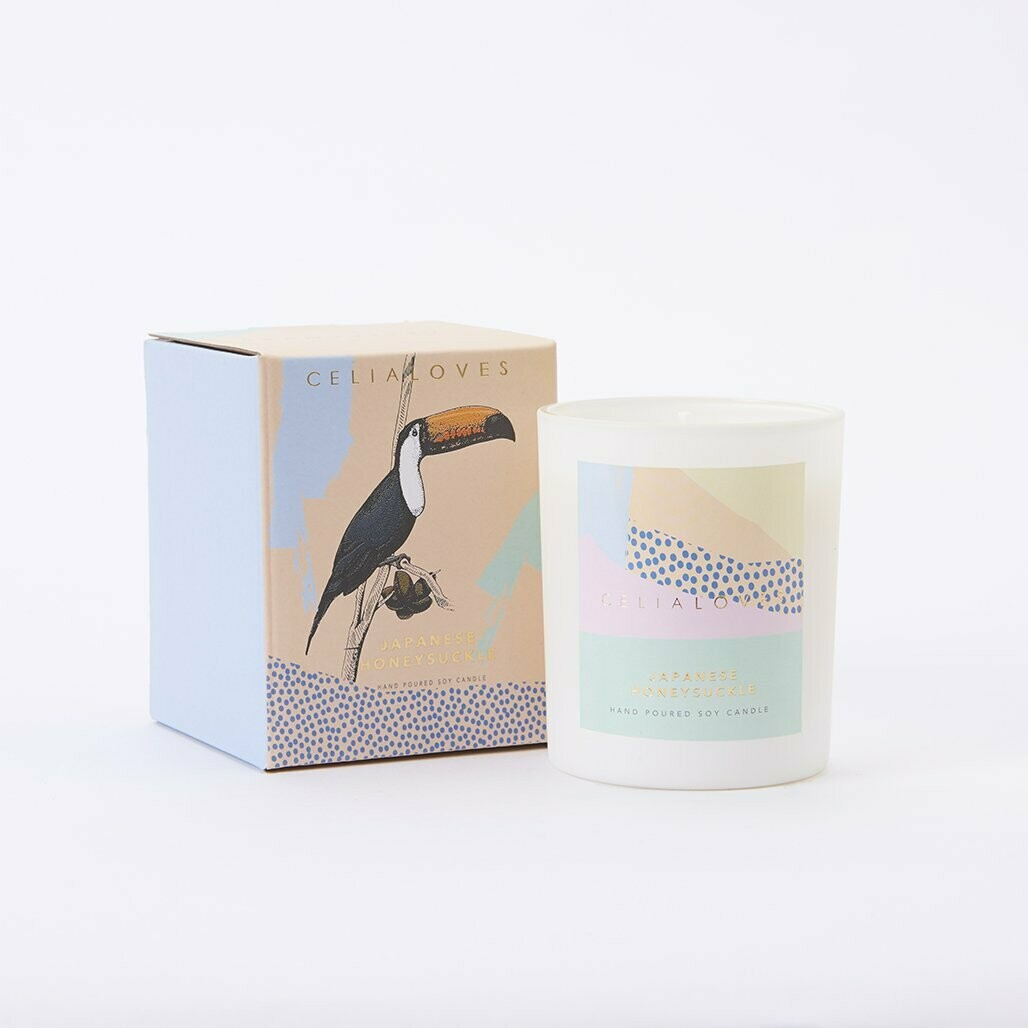 Soy Candle - Japanese Honeysuckle - 40hr
