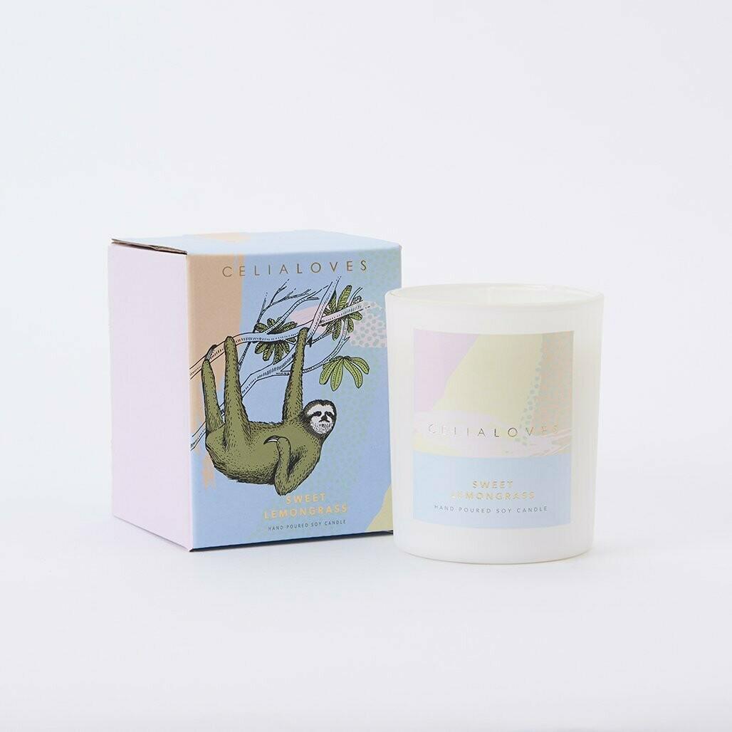 Soy Candle - Sweet Lemongrass - 40hr
