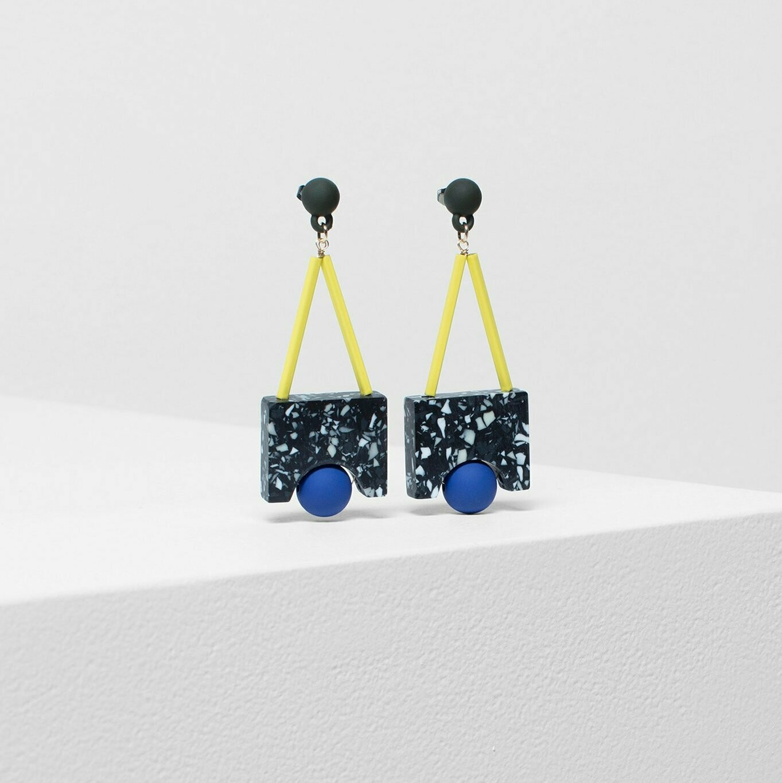 Terrazzo Rindal Drop Earrings