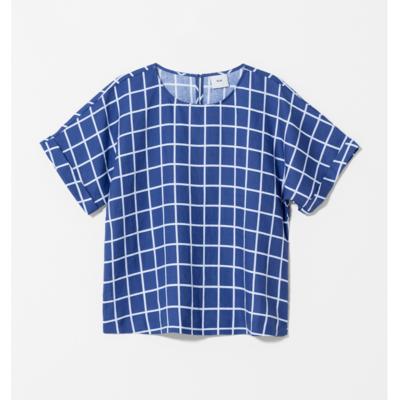 Hopen Top - Blue/White