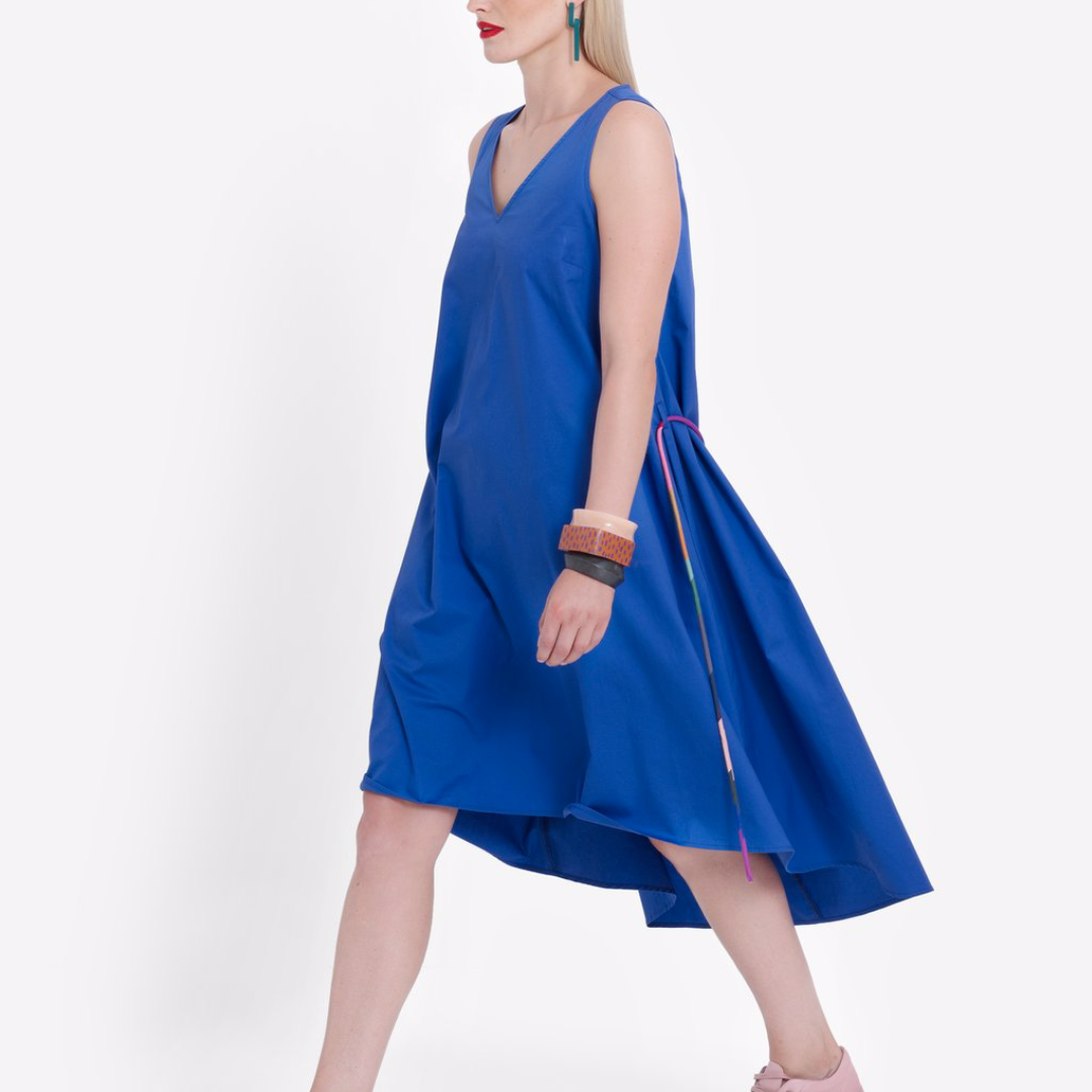 Nyland Dress - Cobalt