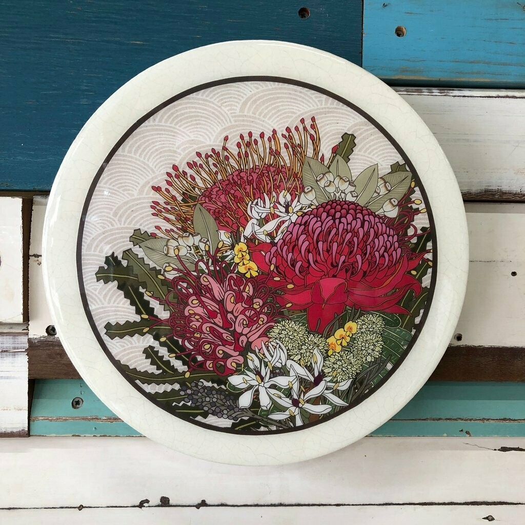 Roundy Woodblock - Native Bloom