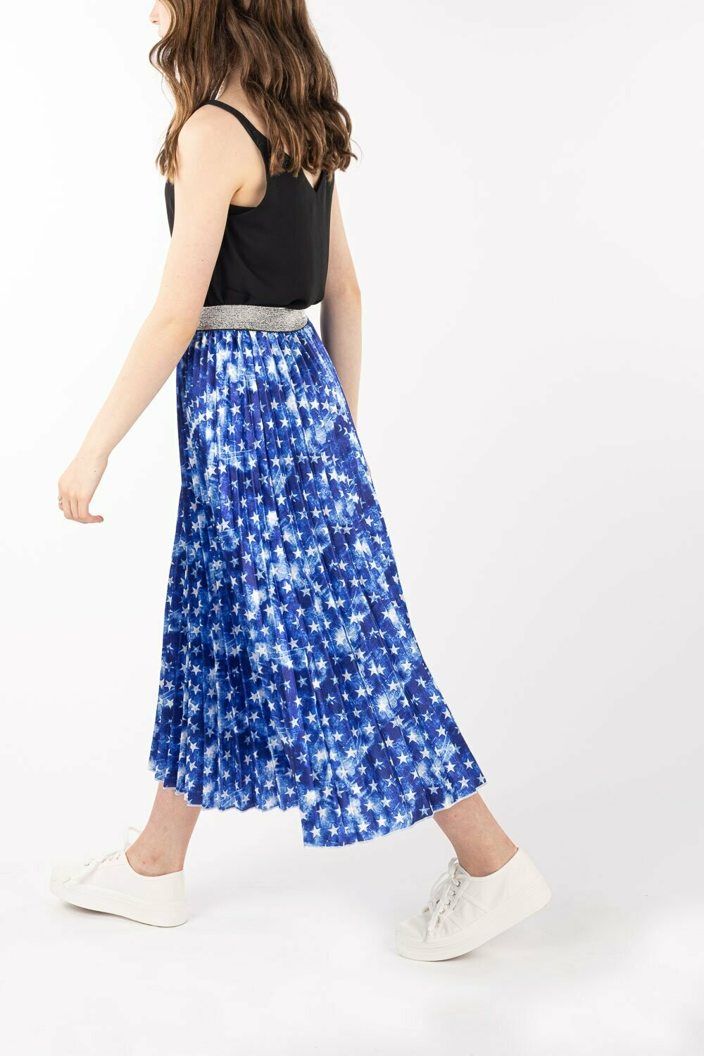 Pleated Skirt - Starry Night - One Size