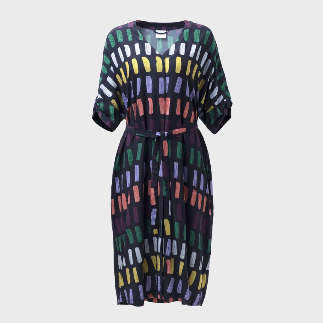 Juna Dress - Charcoal