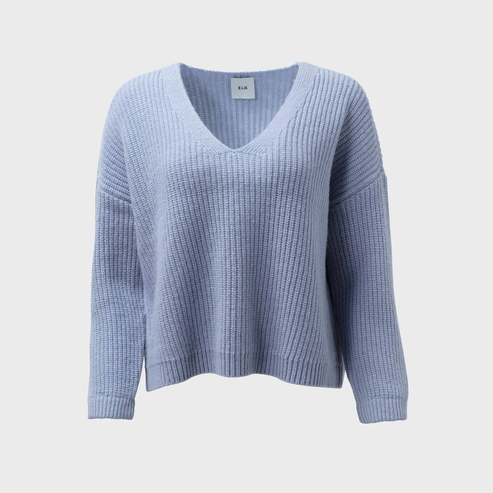 Hennie Knit Sweater - Cornflower Blue