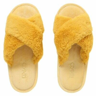 Adult Slippers - Sunshine Yellow - Size 35/36