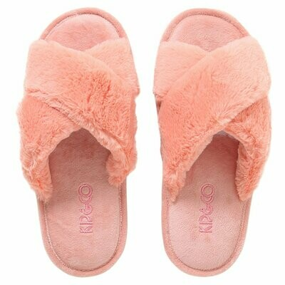 Adult Slippers - Blush Pink - Size 35/36