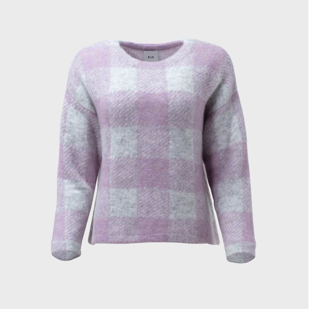Jelica Knit Sweater - Lilac