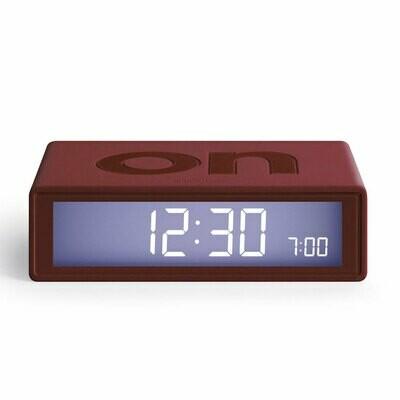 Flip Clock - Dark Red