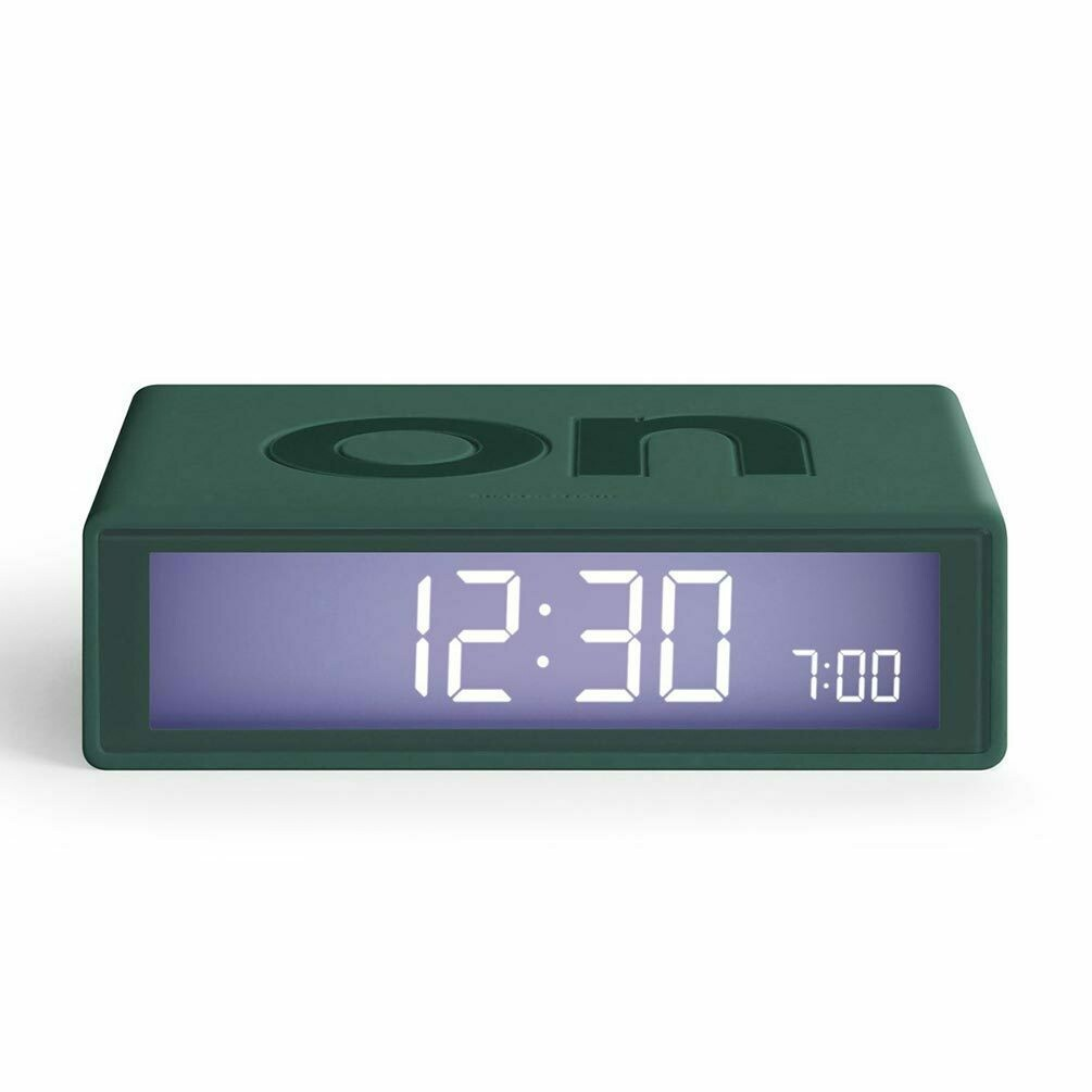 Flip Clock - Dark Green