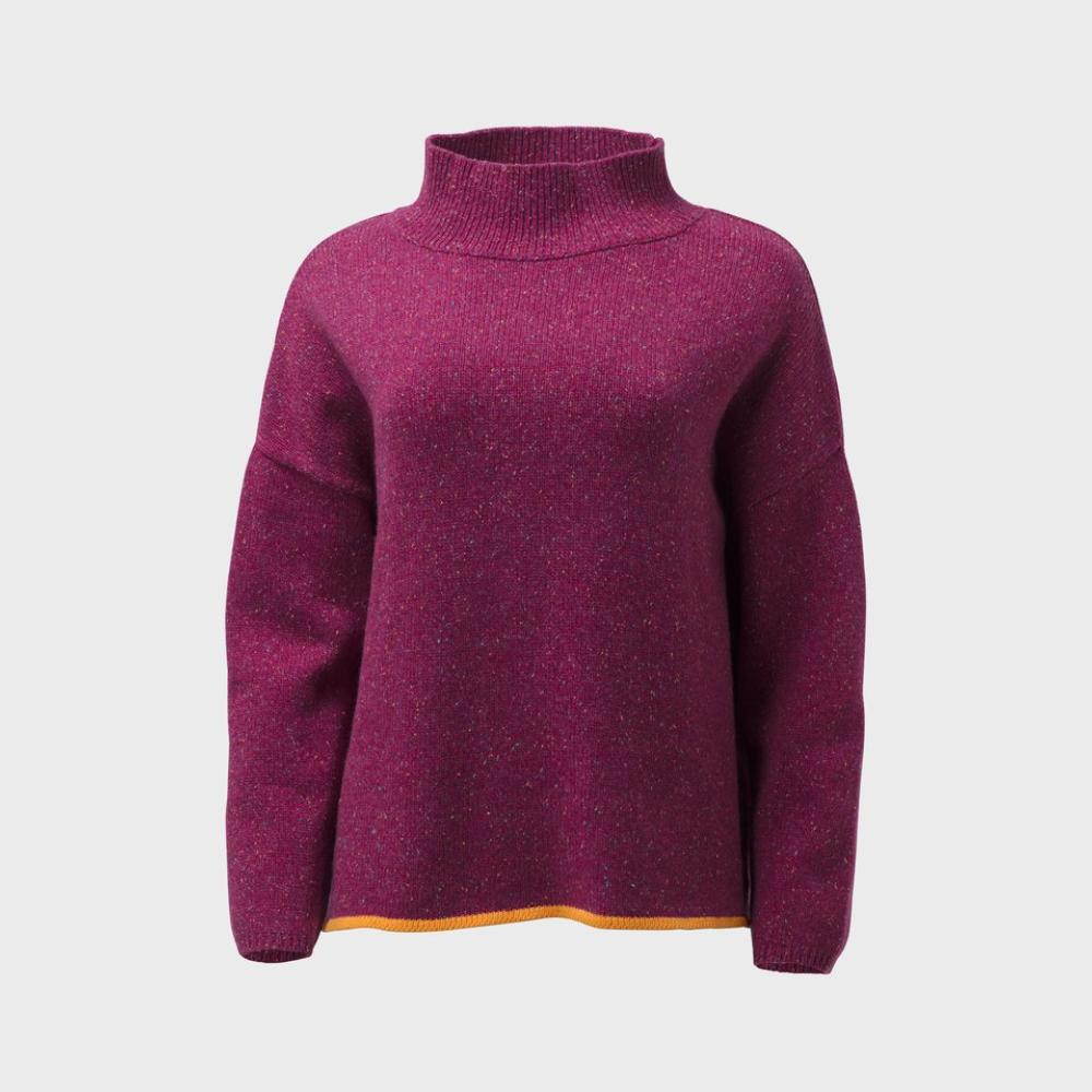 Emmah Sweater Knit - Pink/Orange