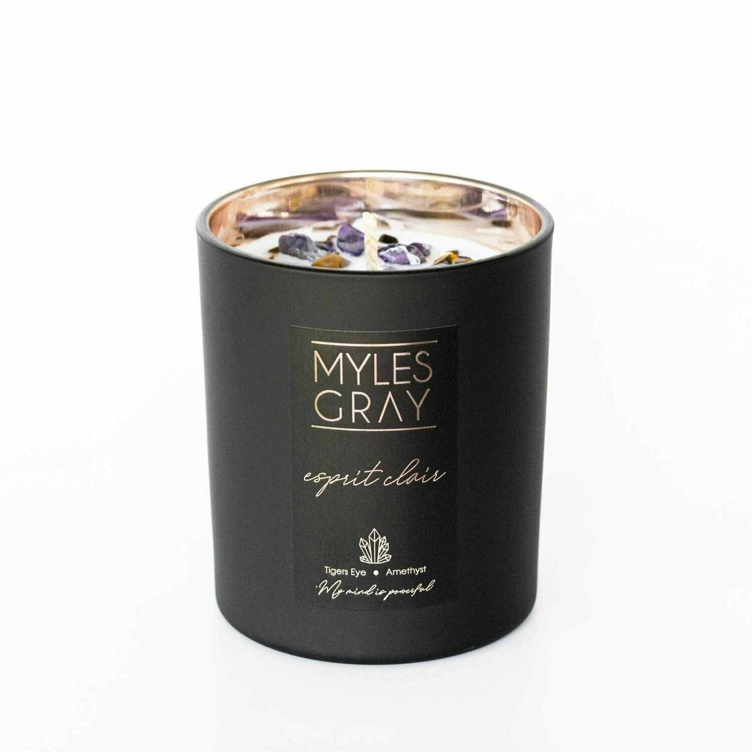 Crystal Candle - Esprit Clair - Clear Your Mind