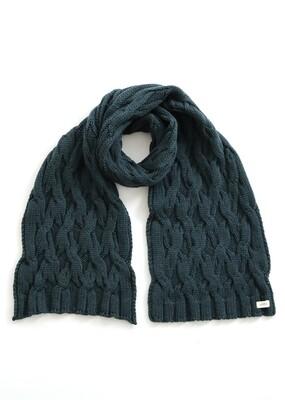 Mabel Scarf - Ivy - 100% Merino Wool
