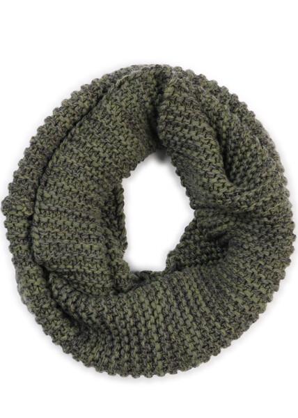 Greta Infinity Scarf - Fern - 100% Merino Wool