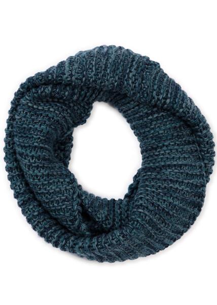 Greta Infinity Scarf - Ivy - 100% Merino Wool