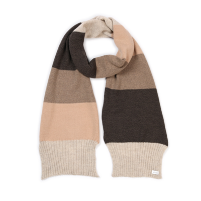 Piper Scarf - Almond - 100% Merino Wool