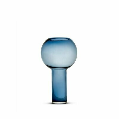 Ballon Vase - Blue - Small (Aval. for Local Drop Off Only)