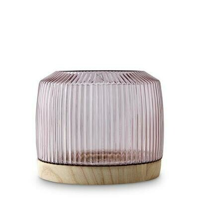 Pleat Vase - Rose (Click & Collect Only)