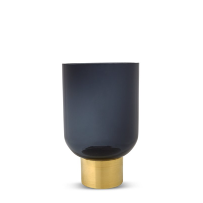 Luxor Vase - Indigo Blue - Small (Aval. for Local Drop Off Only)
