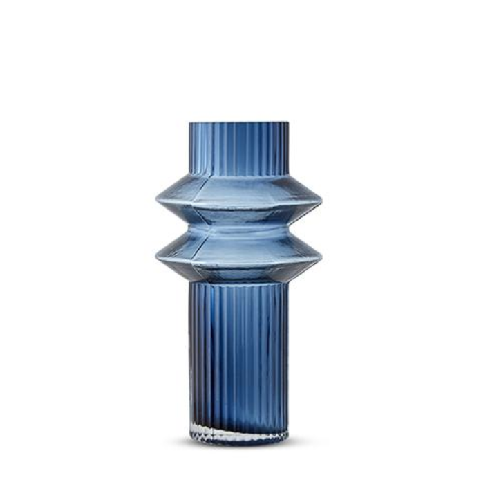 Aswan Vase - Blue - Small (Click & Collect Only)