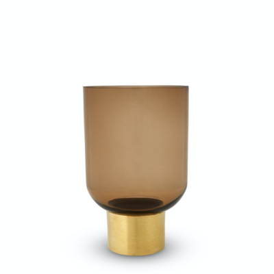 Luxor Vase - Butterscotch - Small (Click & Collect Only)