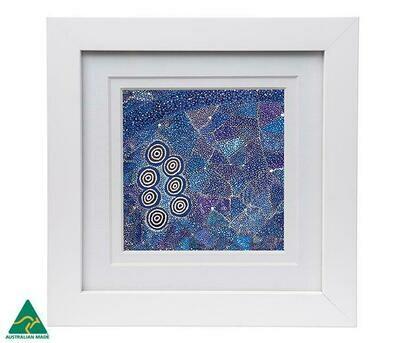 Framed Print - Aboriginal Art - Alma Granites