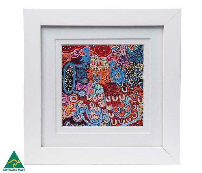 Framed Print - Aboriginal Art - Ada Dixon