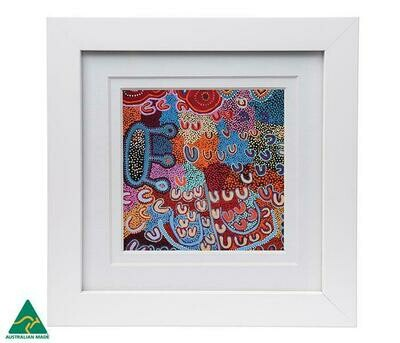 Framed Print - Aboriginal Art - Ada Dixon