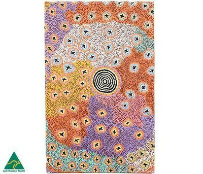 Cotton Tea Towel - Aboriginal Art - Ruth Stewart