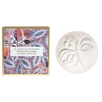 Fragonard's Garden Soap - Encens Fève Tonka