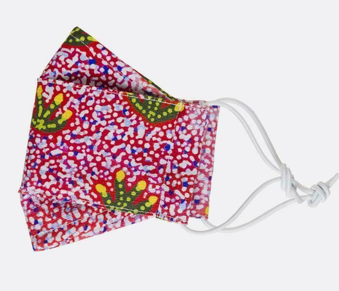 Fabric Face Masks - Aboriginal Design - Alana Holmes