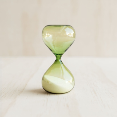 Sandglass - Green - 5 Minutes