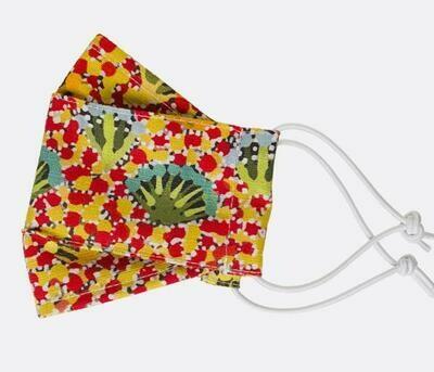 Fabric Face Masks - Aboriginal Design - Daisy Moss
