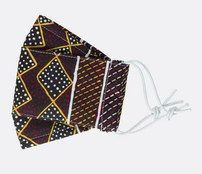 Fabric Face Masks - Aboriginal Design - Jacinta Lorenzo