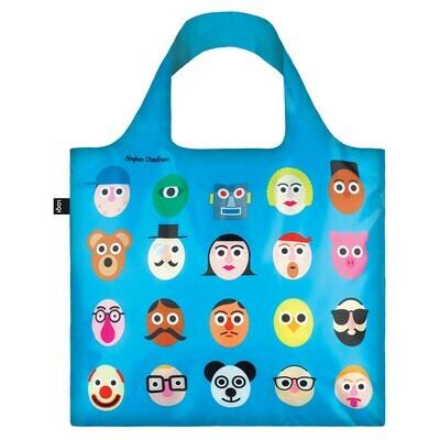 Shopping Bag - Creative Collection - Faces II