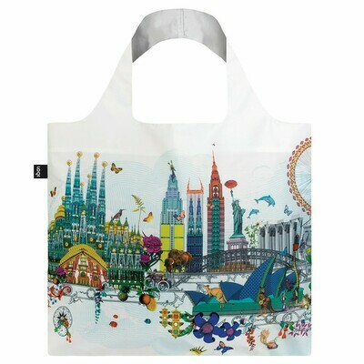 Shopping Bag - Interiors Collection - World Skyline
