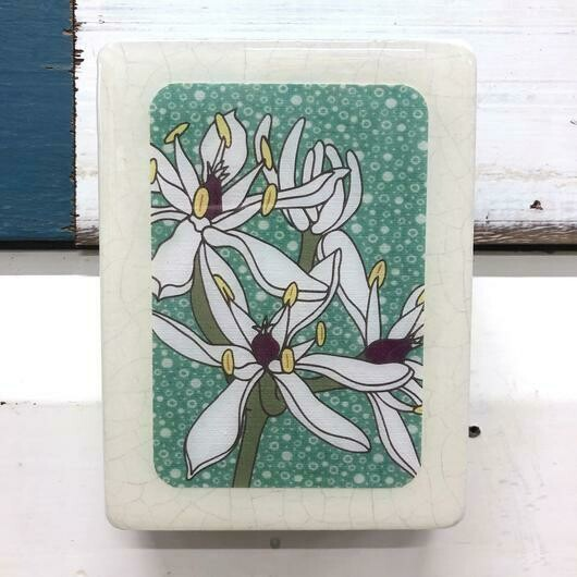 Mini Woodblock - Milk Maids