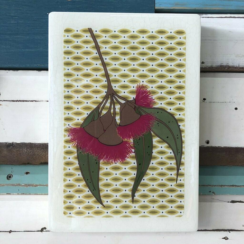 Maxi Woodblock - Gum Blossom