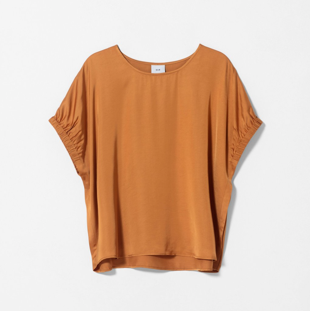 Lesja Shell Top - Gold
