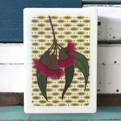 Medi Woodblock - Gum Blossom